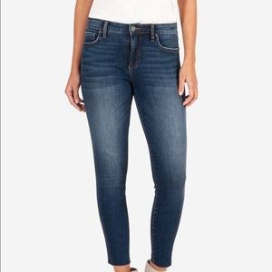 KUT Donna High Rise Fab Ab Ankle Skinny
